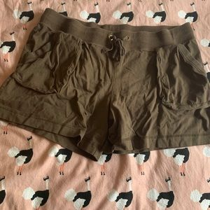 Merona Brown Cotton Shorts